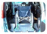 車椅子乗車時